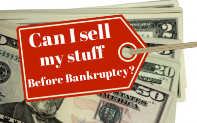 What is my stuff worth in a bankruptcy?